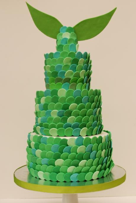 Mermaid Tale Cake