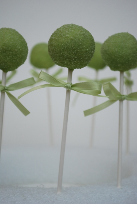 Green Sugar Cake Pop