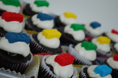 Edible Lego toppers